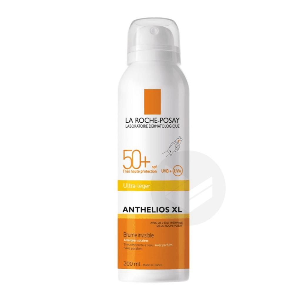 Crème Solaire en Brume Invisible Corps SPF50+ Aérosol Avec Parfum 200ml