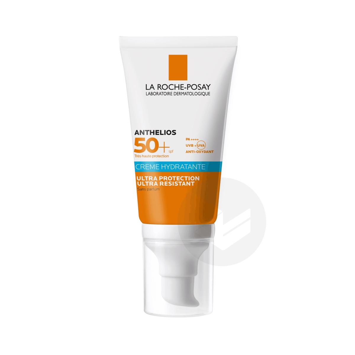 Crème Solaire Hydratante Visage SPF50+ Sans Parfum 50ml