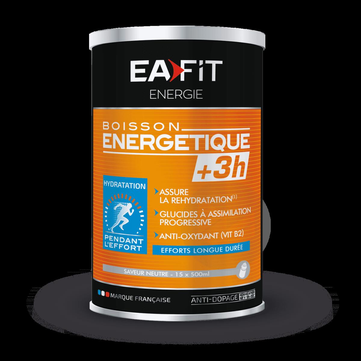 BOISSON ÉNERGÉTIQUE +3H Neutre 500 g