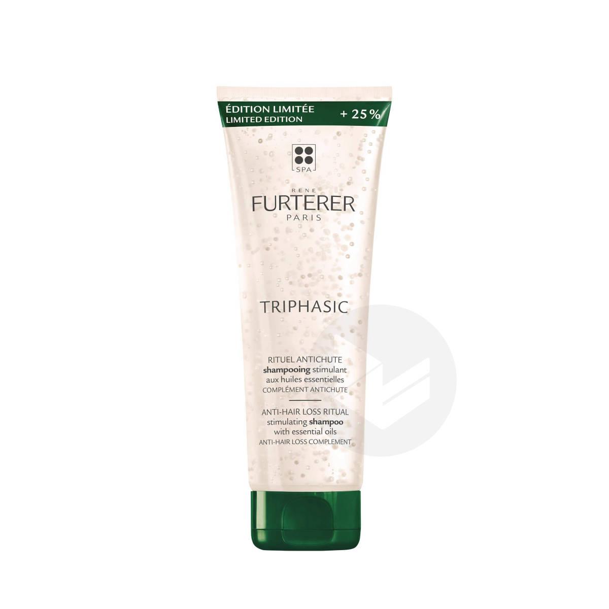 Shampooing stimulant aux huiles essentielles complément antichute sans silicone 250ml + 50ml offert