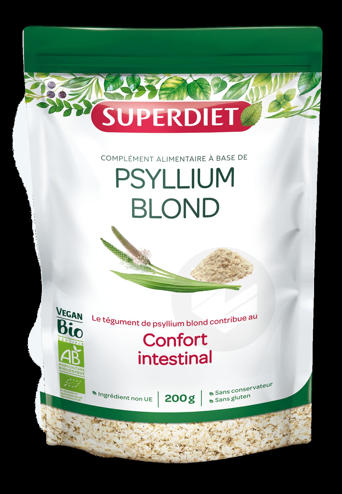 Psyllium Blond Bio Téguments 200 g
