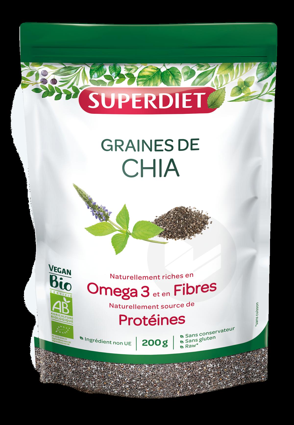 Graines De Chia Bio 200g