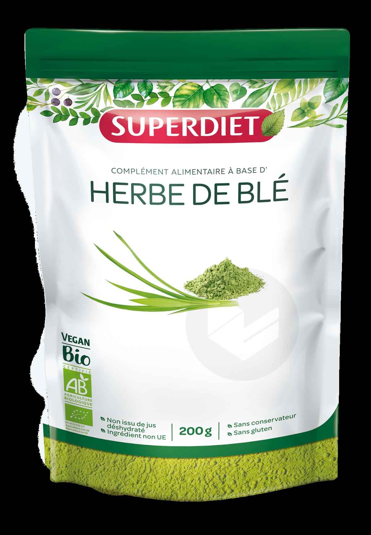 Herbe De Blé Bio Poudre 200 g