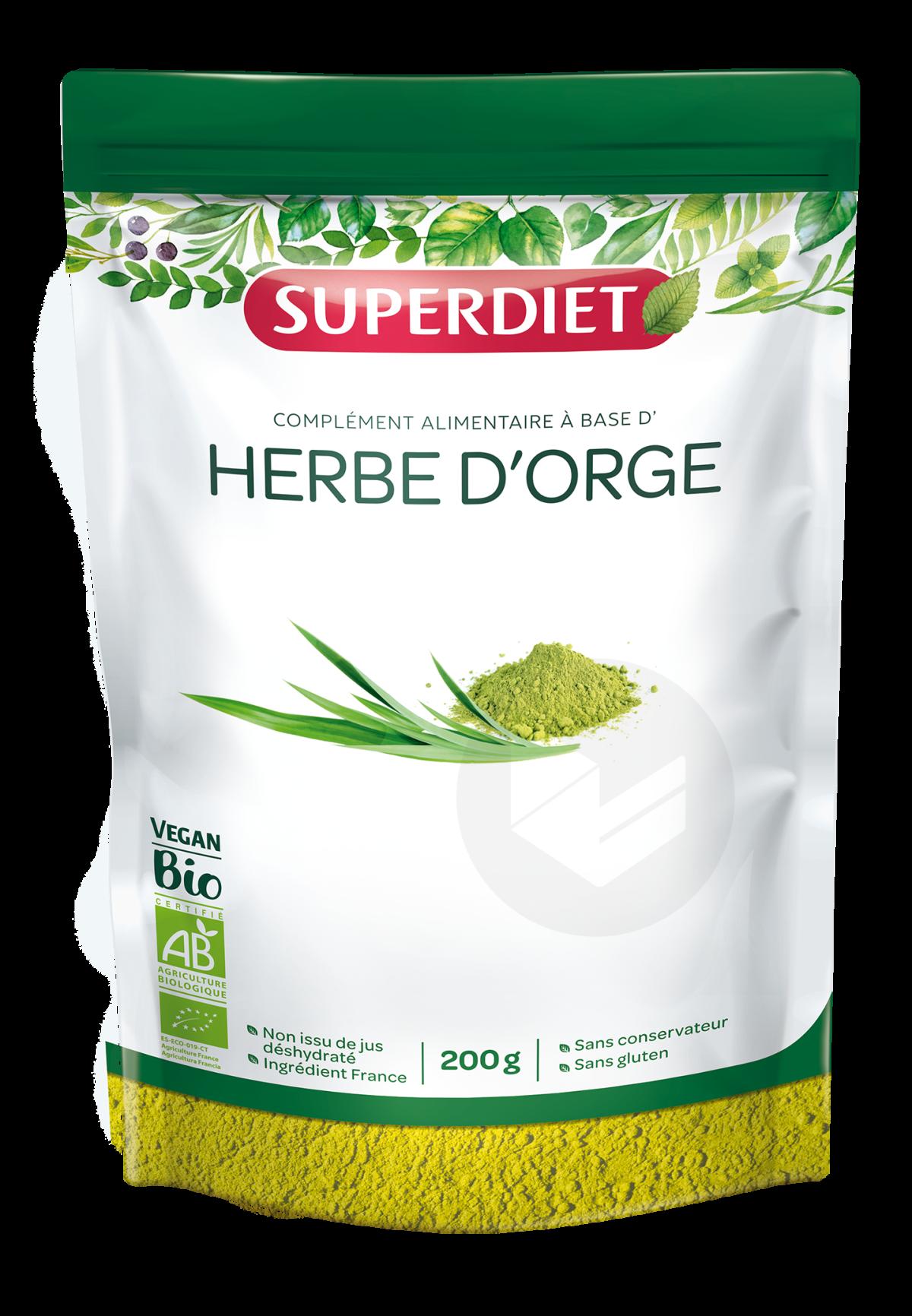 Herbe D'Orge Bio Poudre 200 g