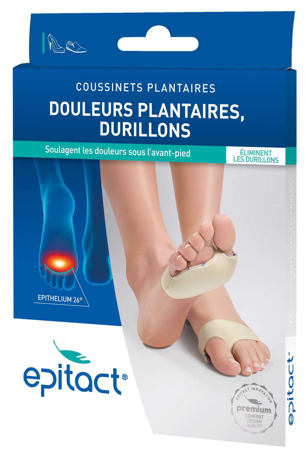 Coussinets Plantaires Taille S 36 38