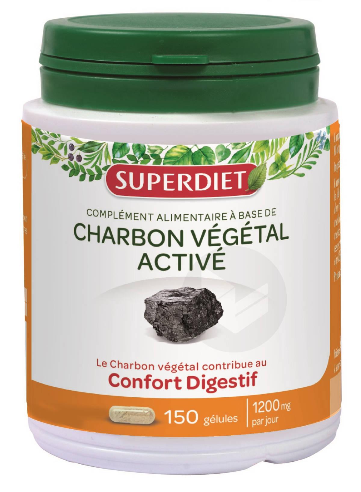 Charbon Vegetal Maxi Pot 150 Gelules