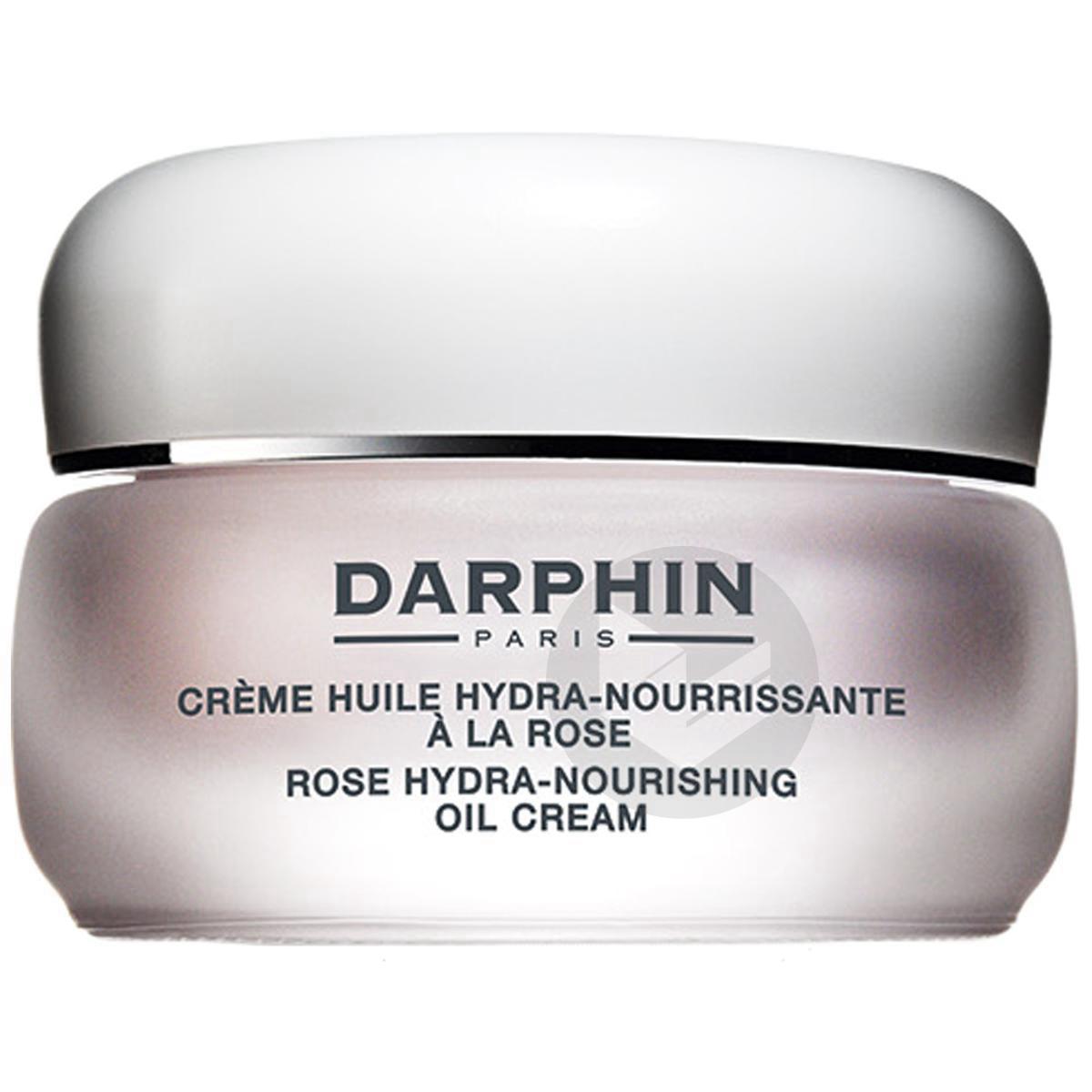 Crème Huile Hydra-Nourrissante à la Rose 50ml