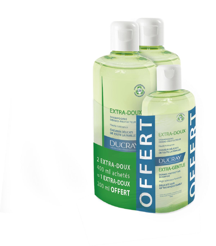Shampooing dermo-protecteur 2x400ml + 200ml