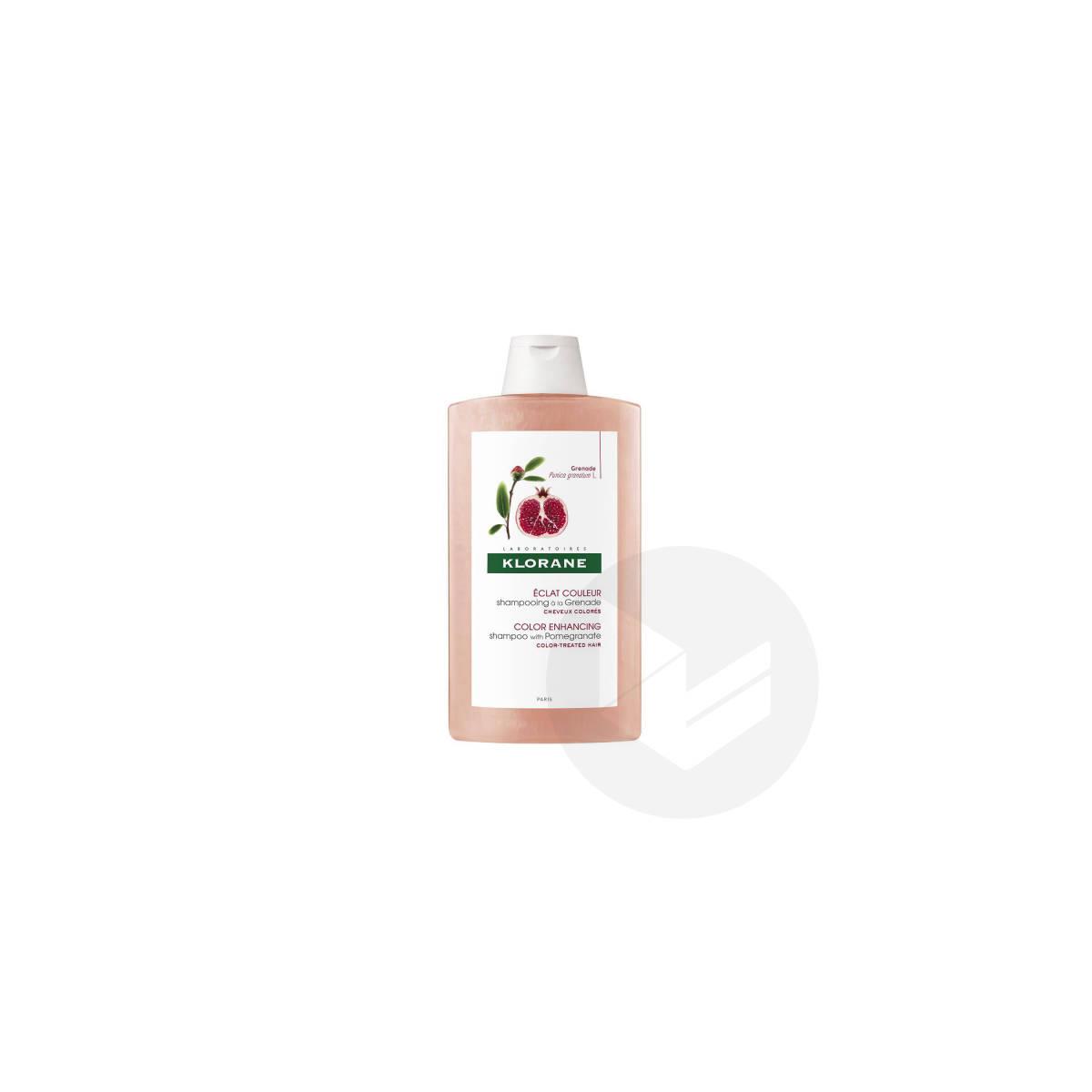 Shampoing Éclat couleur à la Grenade 400ml