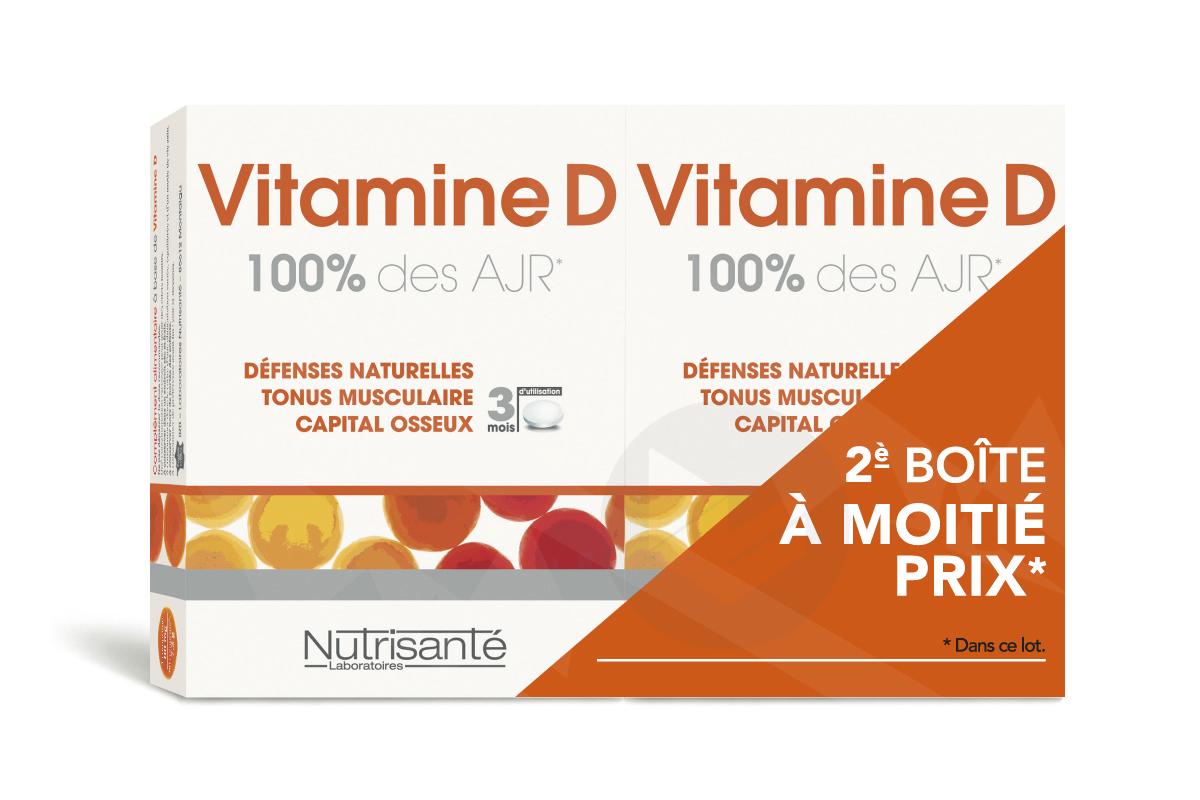 Vitamine D 180 comprimés