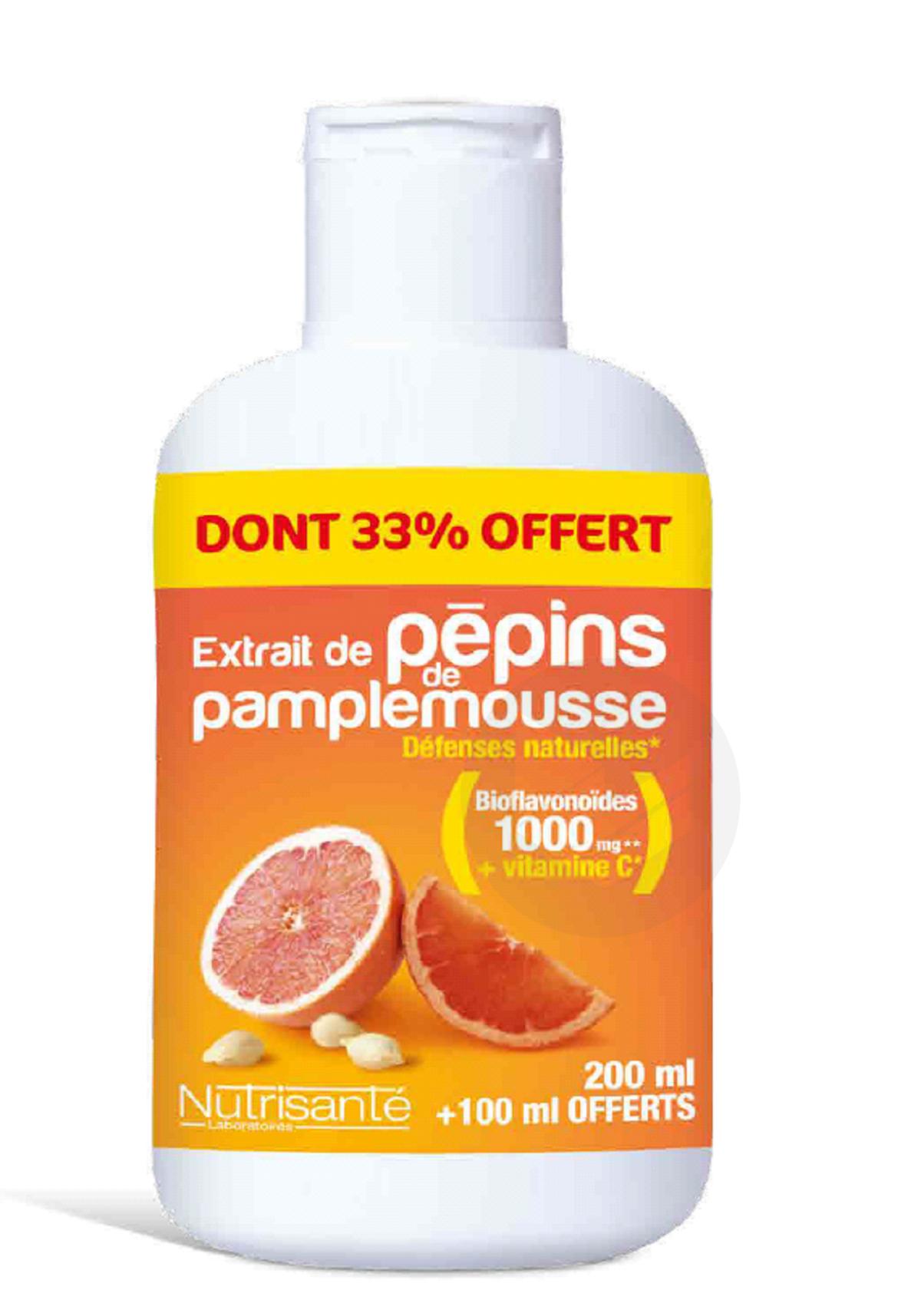 Extrait De Pepins De Pamplemousse 300 Ml