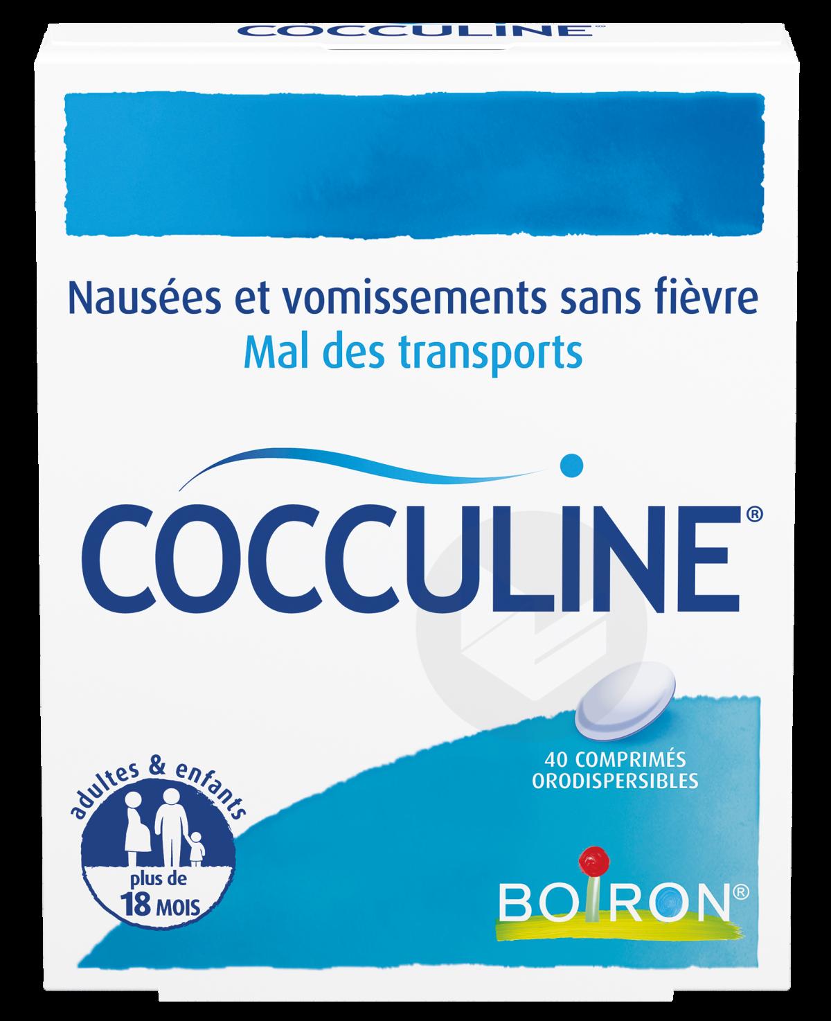 COCCULINE Comprimé orodispersible (Plaquette de 40)