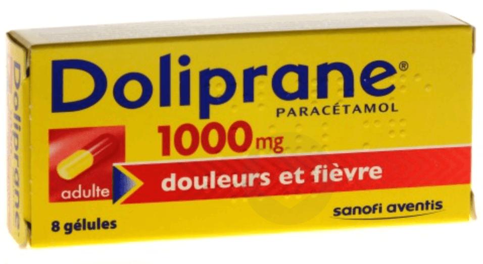 DOLIPRANE 1000 mg Gélules (Plaquette de 8)