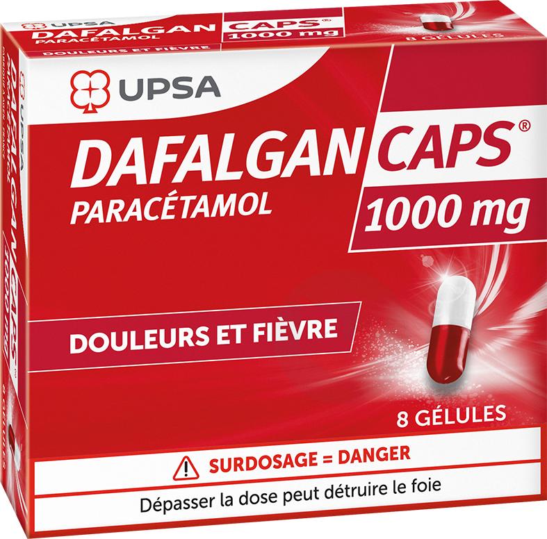 Dafalgan Caps 1000 Mg 8 Gelules